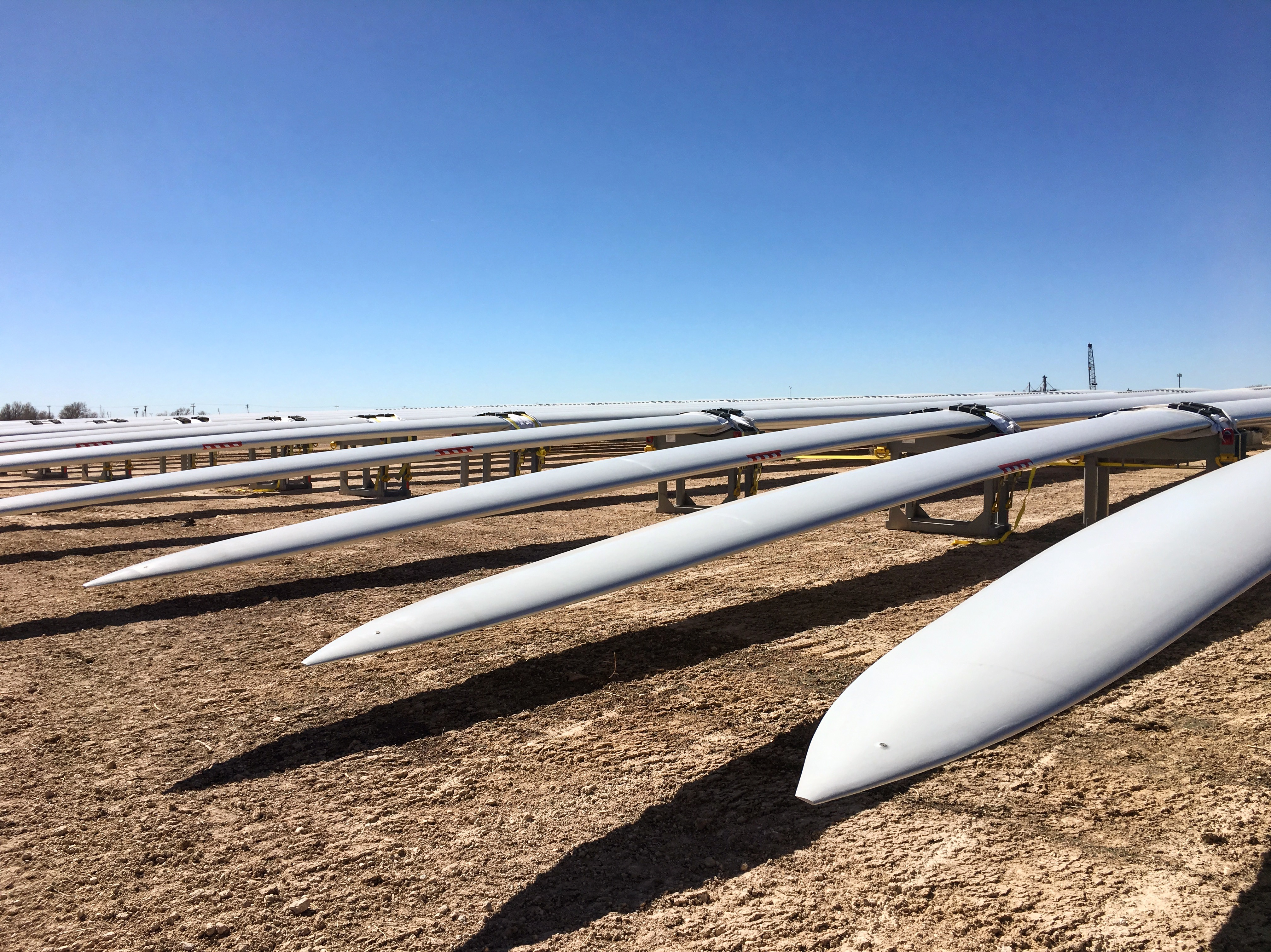 BNSF Logistics - experts in the movement of wind turbine components for safe, secure delivery to the lay-down site.